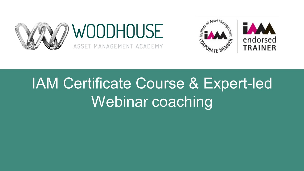 IAM Certificate Course & Expert-led Webinar coaching