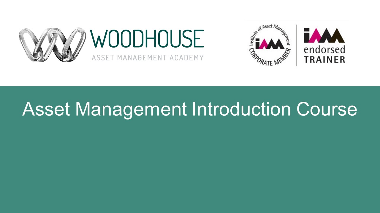 Asset Management Introduction Course